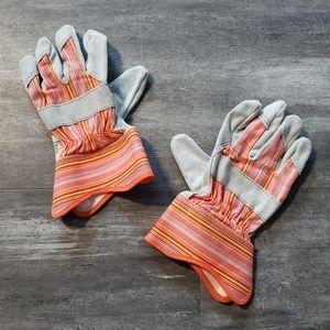 Orange Grey Work Horse Grip Glove